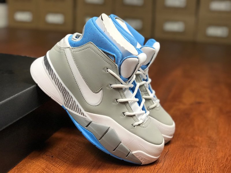 Nike Zoom Kobe 1 Protro MPLS Wolf Grey White-University Blue On Sale