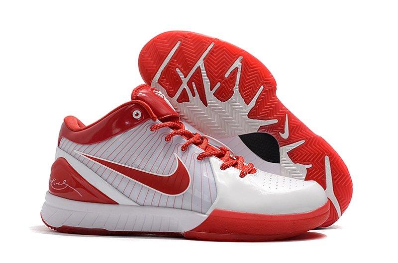 Nike Zoom Kobe 4 Lower Merion White University Red To Buy