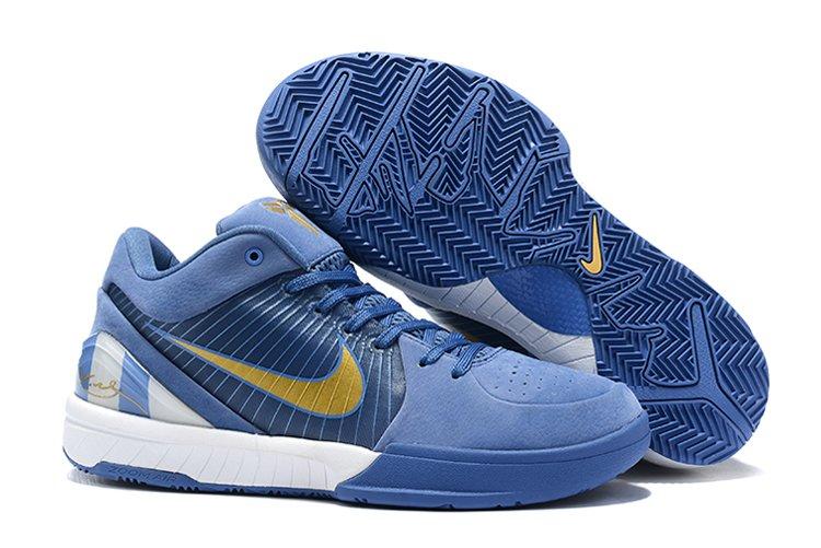 Nike Zoom Kobe 4 Protro Dark Pastel Blue For Sale