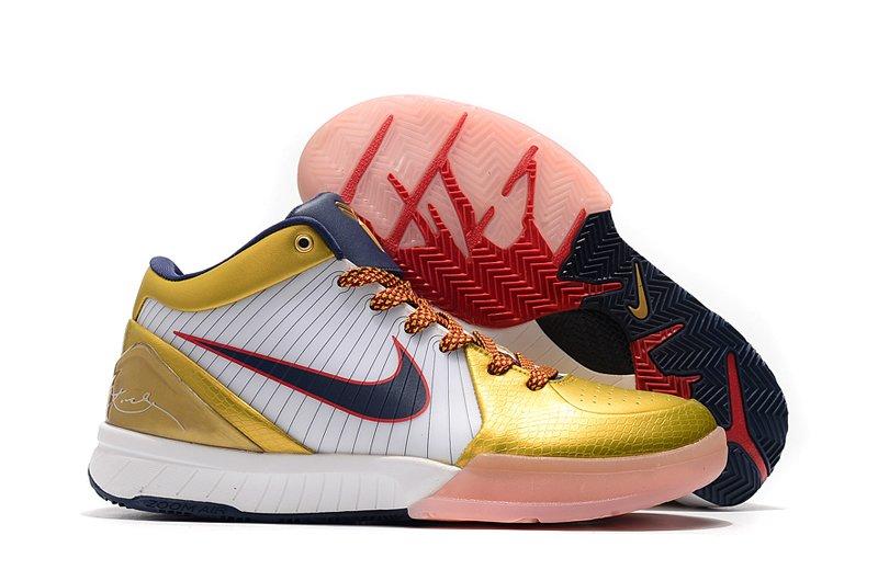 Nike Zoom Kobe IV 4 Gold Medal On Sale