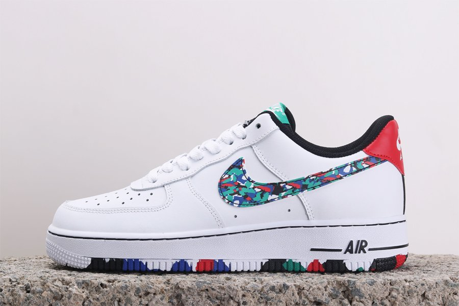 Buy Nike AF1 Low Melted Crayon White Hyper Blue-Neptune Green-Multi