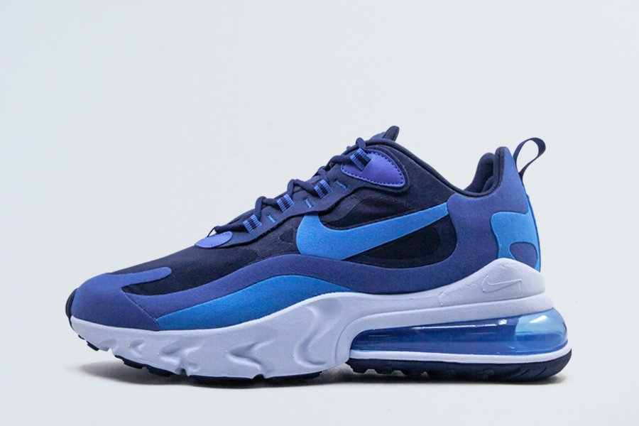 Buy Nike Air Max 270 React Blue Void Photo Blue-Game Royal