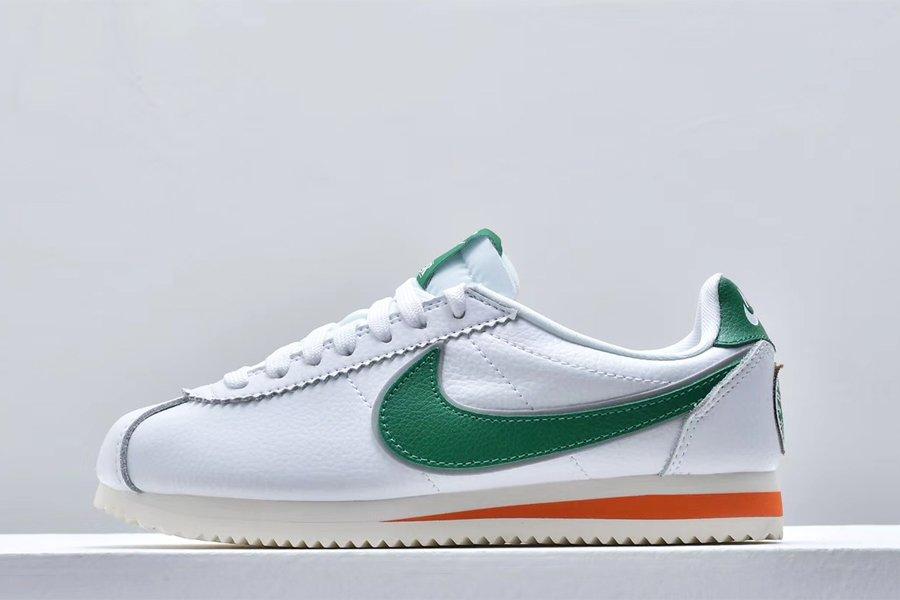 Buy Stranger Things x Nike Cortez Hawkins High White Pine Green