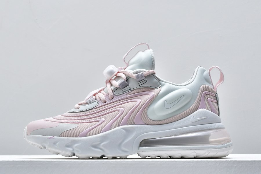 Ladies Nike Air Max 270 React ENG Summit White-Barely Rose For Sale