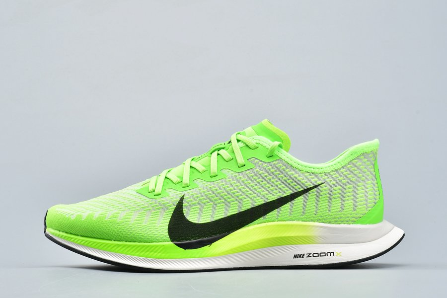 Mens Nike Zoom Pegasus Turbo 2 Electric Green Black Running Shoes For Sale