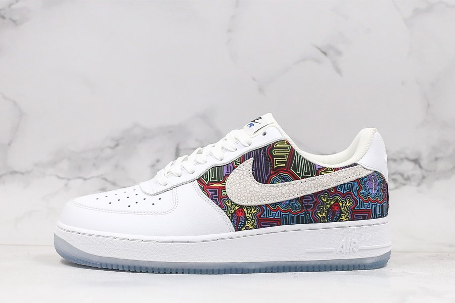 Nike Air Force 1 Low Puerto Rico White Multi For Sale
