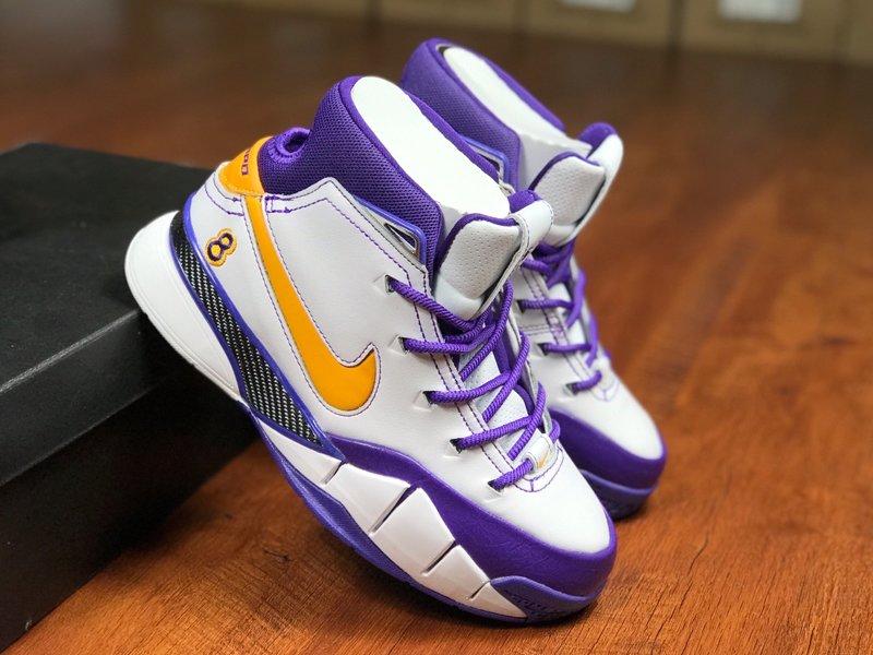 Nike Kobe 1 Protro QS Close Out White Del Sol-Varsity Purple To Buy