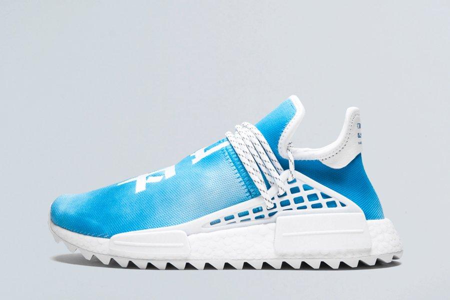 Pharrell adidas NMD Hu Peace Blue F99763 To Buy