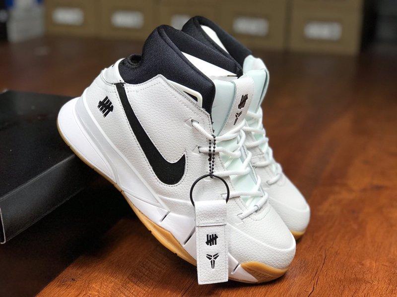 Undefeated x Nike Zoom Kobe 1 Protro White Gum On Sale