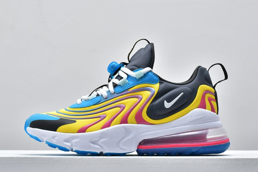 2020 Nike Air Max 270 React ENG Laser Blue CD0113-400 On Sale