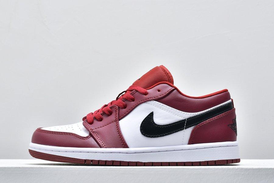 Air Jordan 1 Low Noble Red 553558-604 Cheap Online Shoes