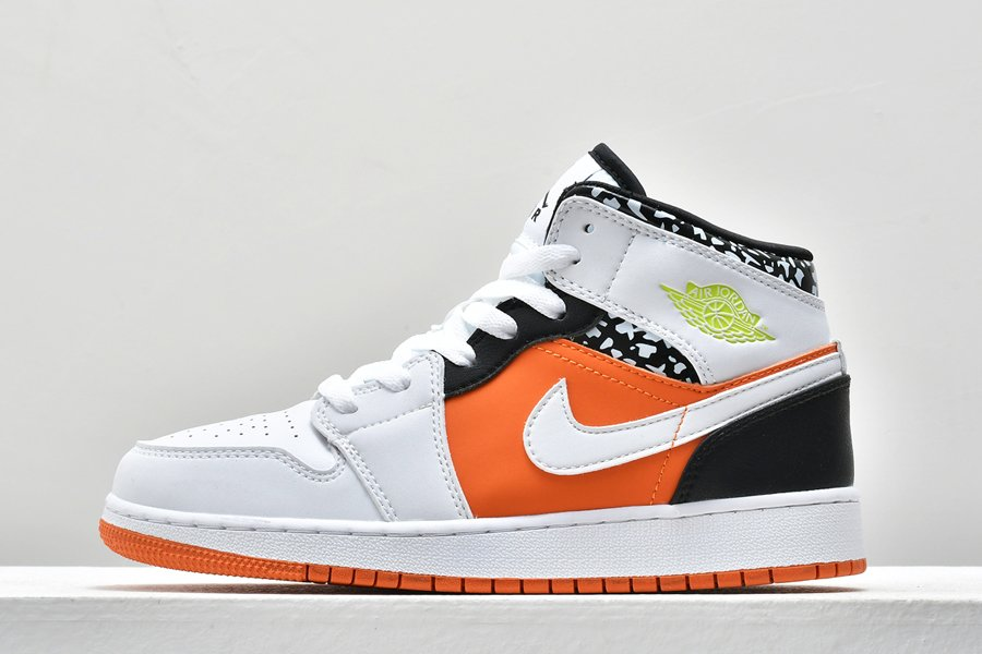 Air Jordan 1 Mid Composition Notebook 554725-870 To Buy