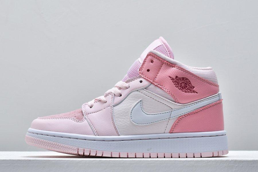 Air Jordan 1 Mid Digital Pink CW5379-600 For Sale