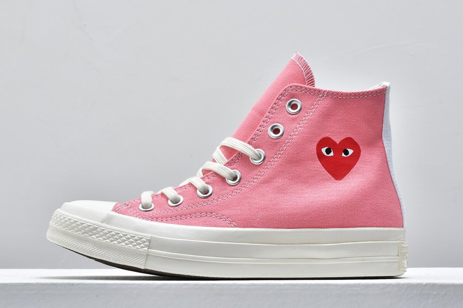 Comme des Garcons Play x Converse Chuck Taylor All-Star 70s Pink On Sale