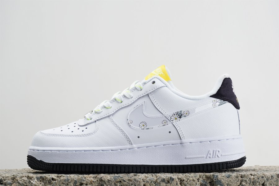 Nike Air Force Low Daisy Pack White Black CW5859-100 For Sale