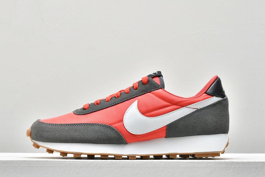 Nike Daybreak Siron Grey Track Red-Summit White-Black On Sale