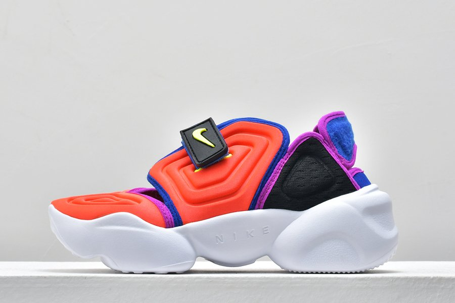 Nike WMNS Air Aqua Rift Split-toe Sandals Bright Crimson To Buy