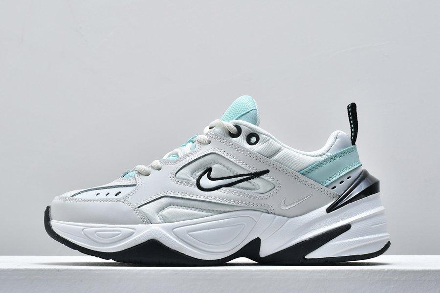 Womens Nike M2K Tekno Platinum Tint White-Teal Tint For Sale