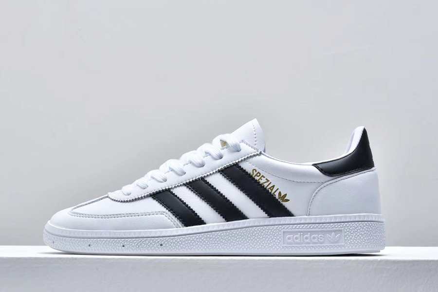 adidas Originals Handball Spezial White Black Gold Outlet