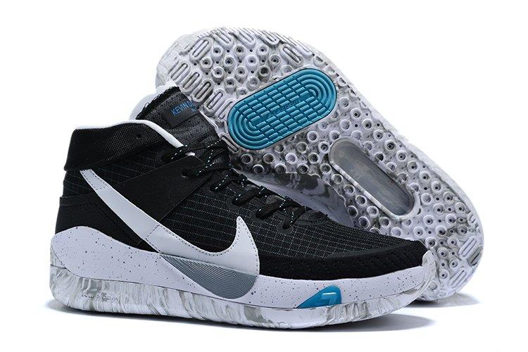 2020 Nike KD 13 Black White-Grey CI9948-001 For Sale