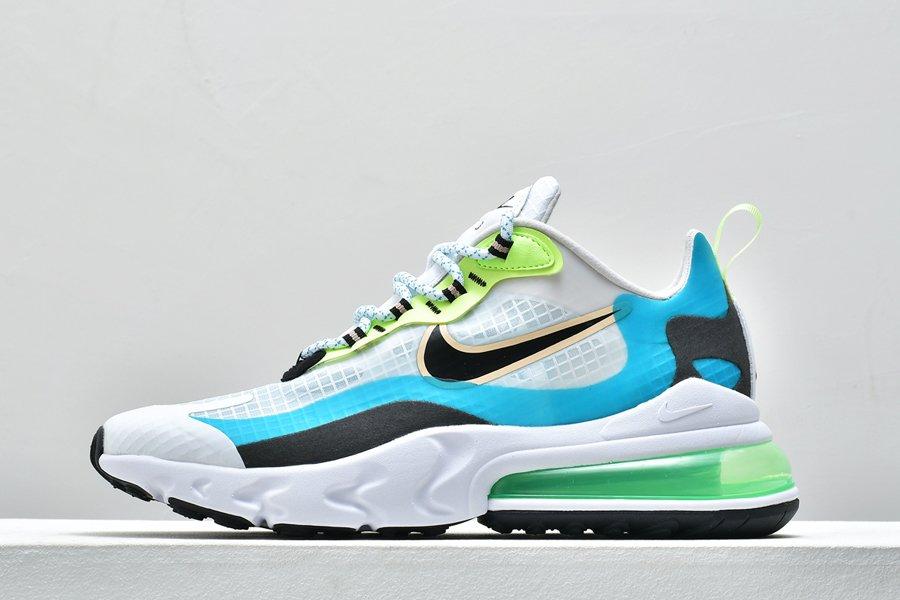 Buy Mens Nike Air Max 270 React SE Oracle Aqua Black-Ghost Green