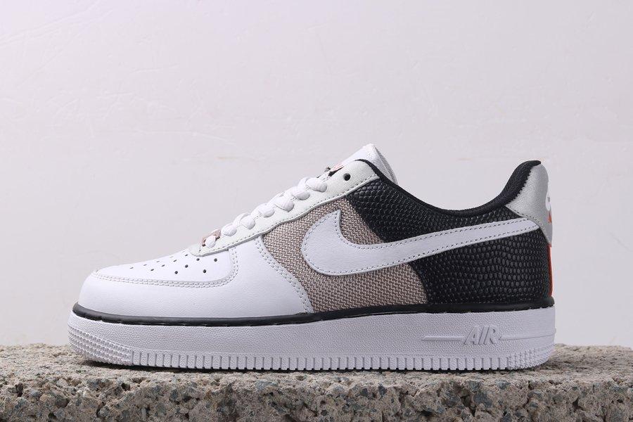 Buy Nike Air Force 1 07 Snake Vast Grey Sail-Black-Metallic Gold