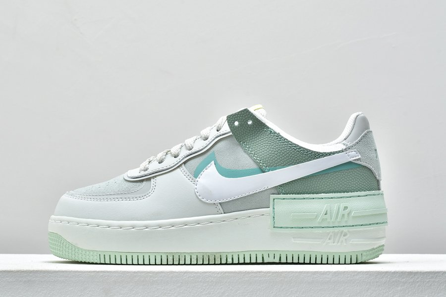 Ladies Nike Air Force 1 Shadow Pistachio Frost Green For Sale