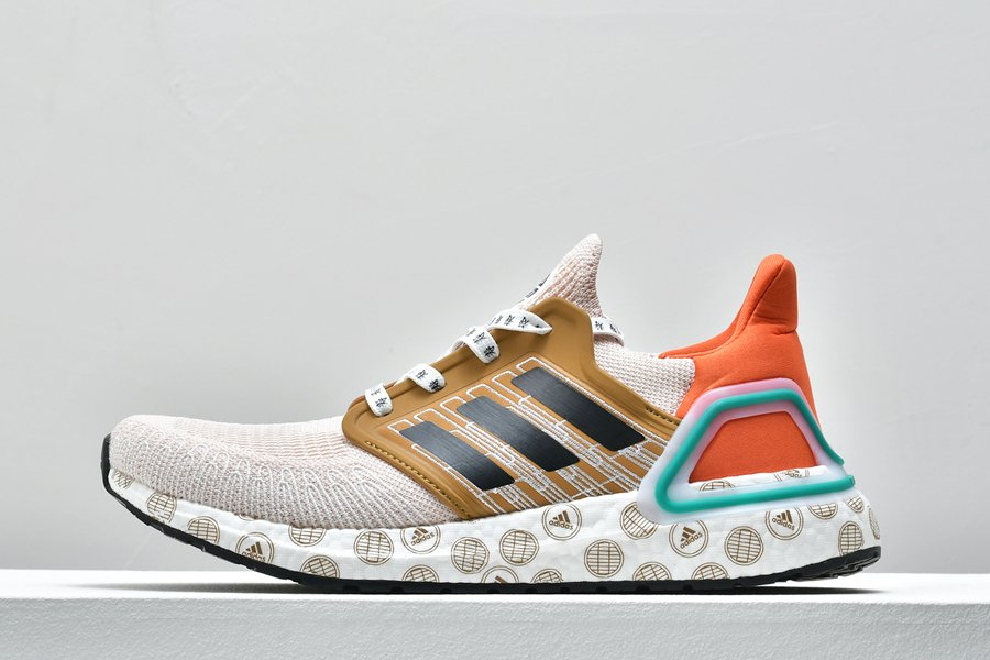 adidas UltraBoost 20 Running Shoe Glory Amber FX8888 For Sale
