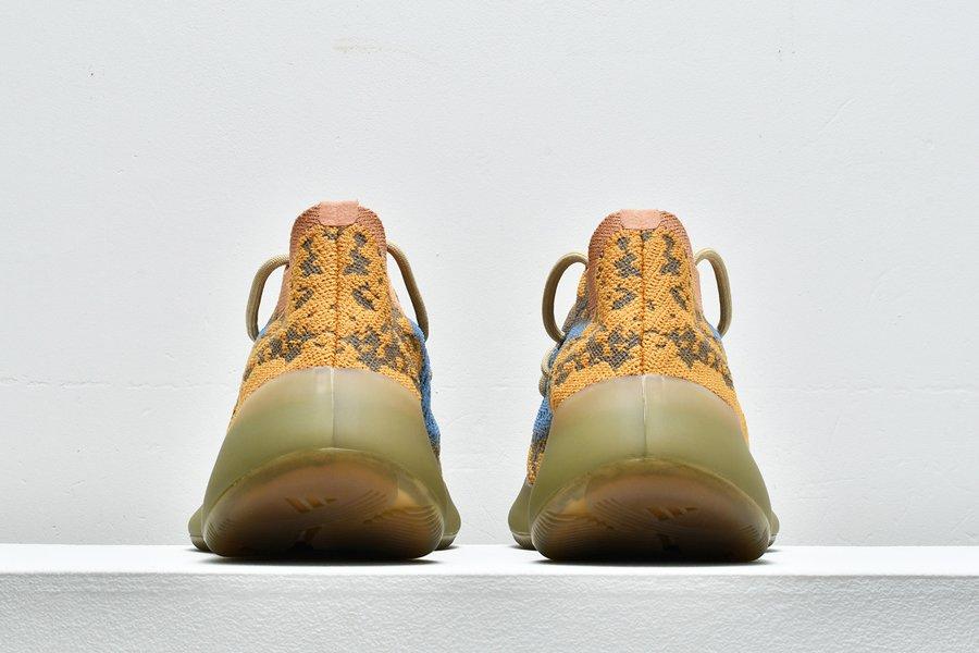 adidas Yeezy Boost 380 Blue Oat Reflective FY5137 Heel