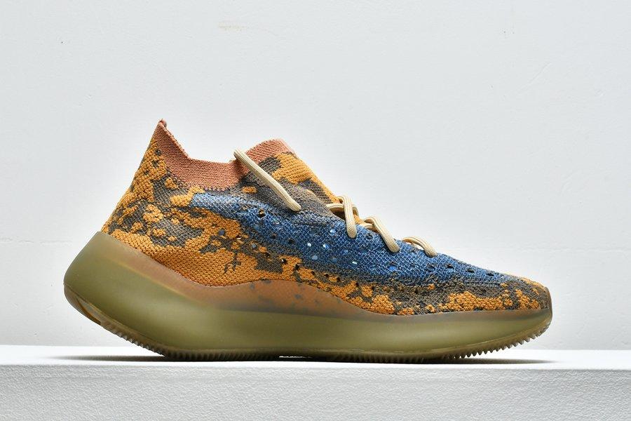 adidas Yeezy Boost 380 Blue Oat Reflective FY5137 Medial