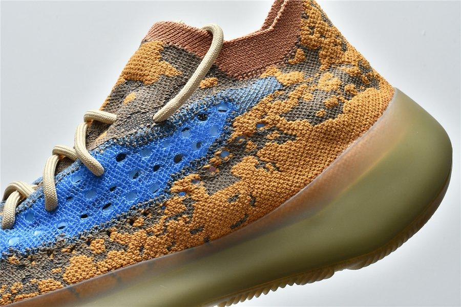 adidas Yeezy Boost 380 Blue Oat Reflective FY5137 Panel