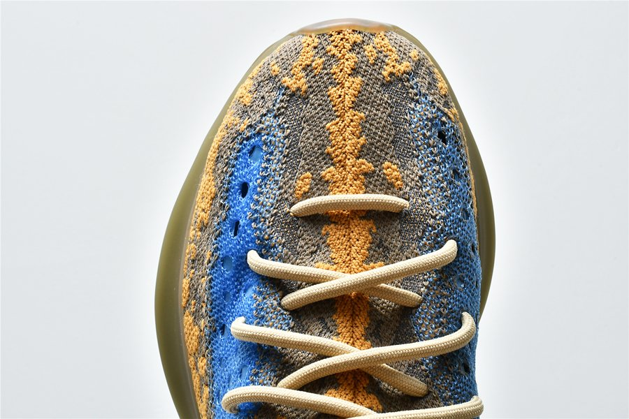 adidas Yeezy Boost 380 Blue Oat Reflective FY5137 Toe