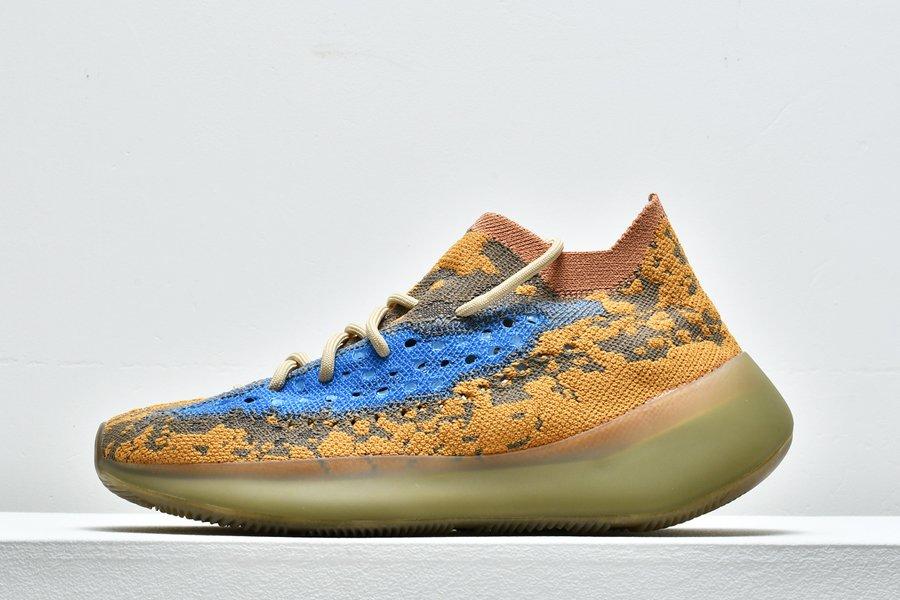 adidas Yeezy Boost 380 Blue Oat Reflective FY5137