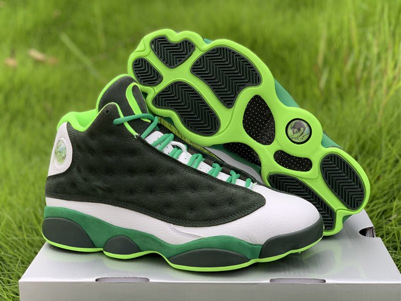 Air Jordan 13 Retro Oregon Ducks PE Lucky Green On Sale
