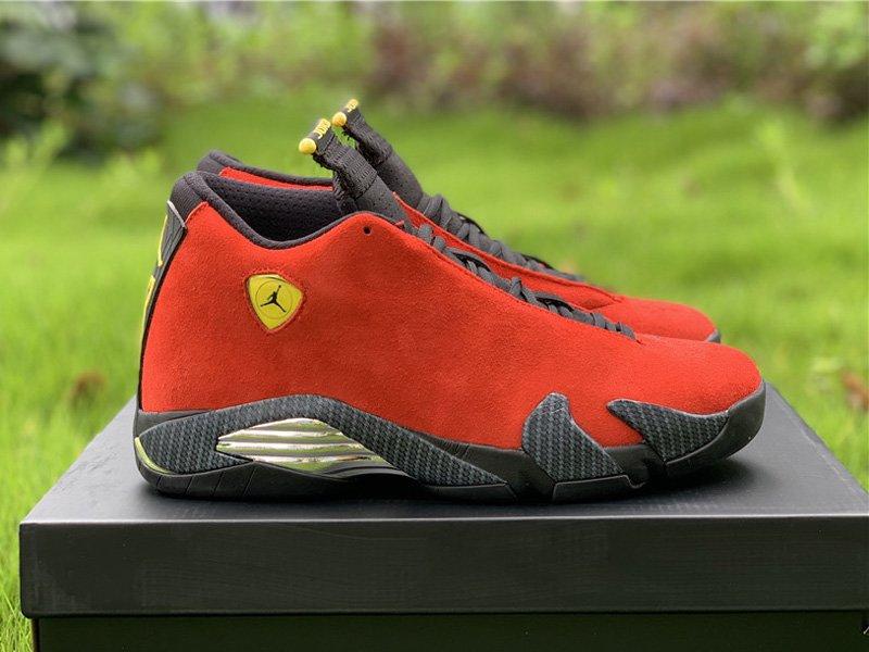 Air Jordan 14 Retro Red Ferrari 654459-670 Right