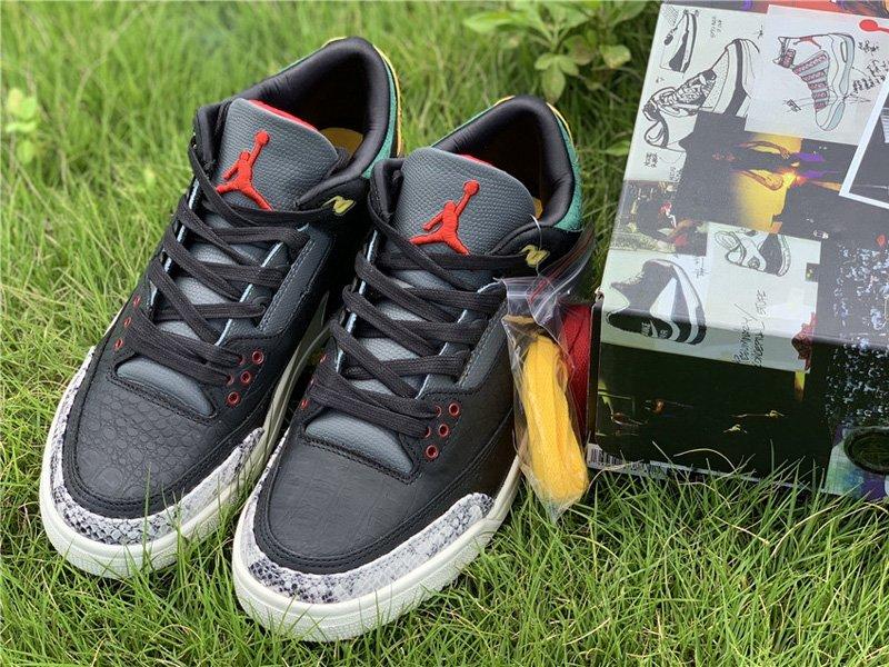 Air Jordan 3 Retro SE Animal Instinct 2.0 CV3583-003 Top