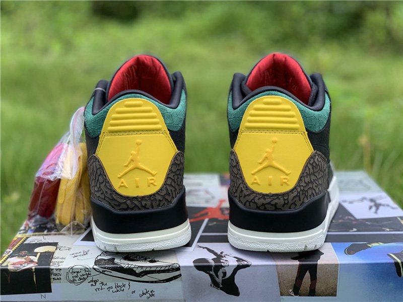 Air Jordan 3 Retro SE Animal Instinct 2.0 Heel