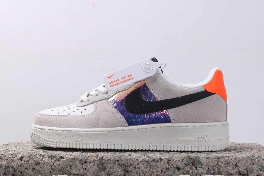 Buy Nike Air Force 1 Low Iridescent Snakeskin Panels Online
