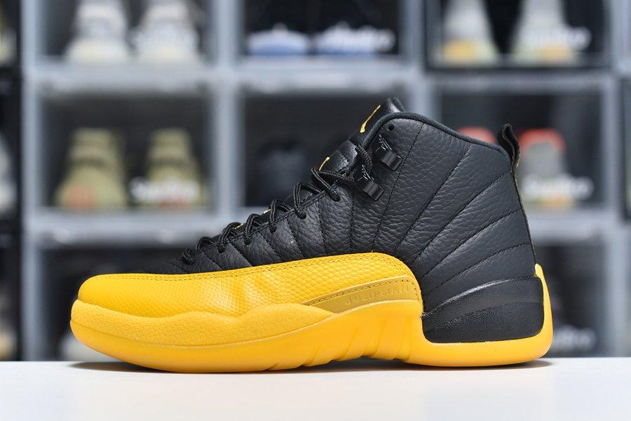 Buy Now Jordan 12 Retro Black University Gold