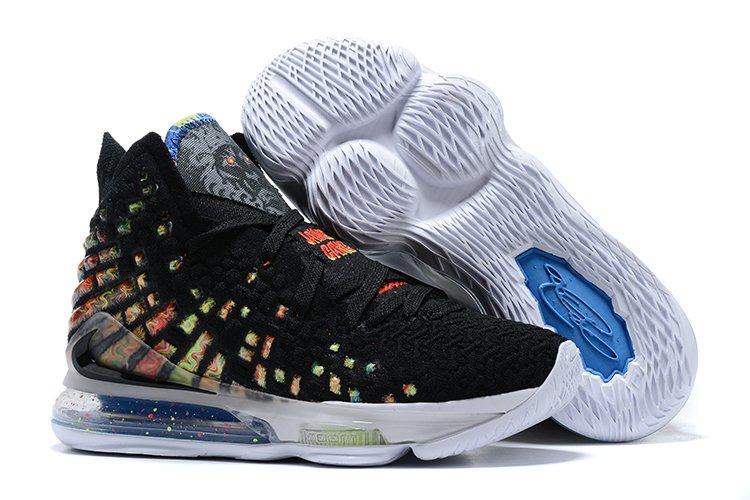 Buy Online Nike LeBron 17 James Gang Black Multi-Color