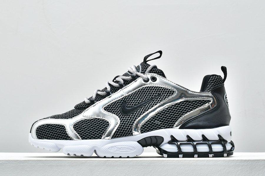 Buy Stussy x Nike Air Zoom Spiridon Cage 2 Pure Platinum Black-White