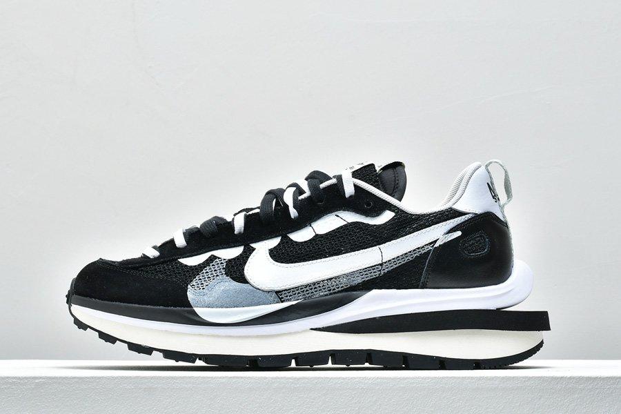 Buy sacai x Nike Pegasus VaporFly Double-Layered Style Black White