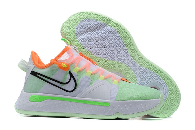 Gatorade x Nike PG 4 Bright Orange Neon Green-Yellow For Sale