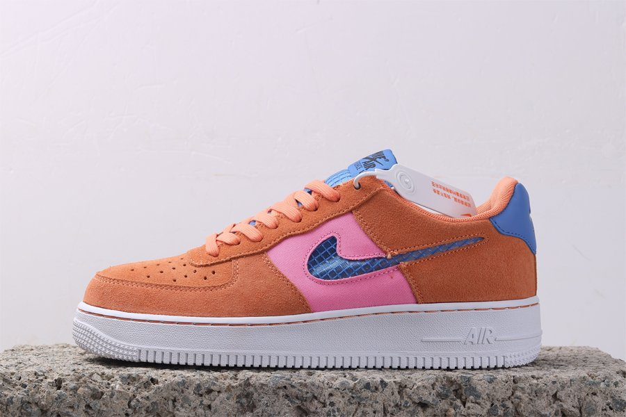 Nike Air Force 1 07 Orange Trance Available Now