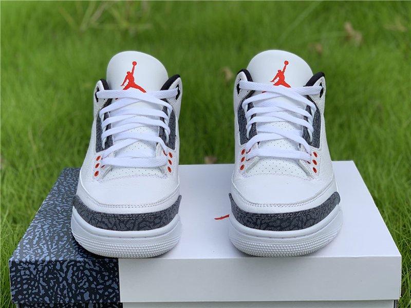Air Jordan 3 SE Denim Fire Red CZ6431-100 Front
