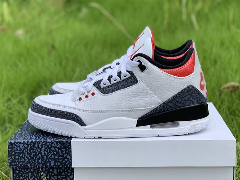 Air Jordan 3 SE Denim Fire Red CZ6431-100 Left