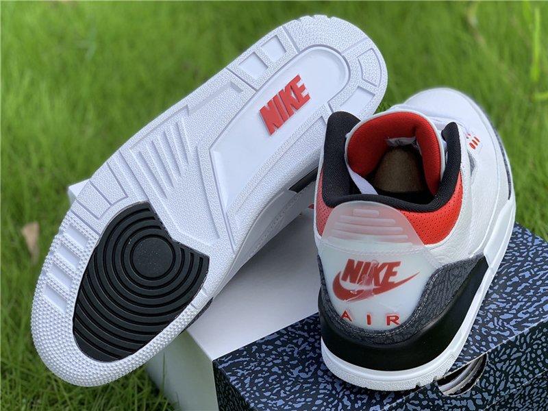 Air Jordan 3 SE Denim Fire Red CZ6431-100 Pair