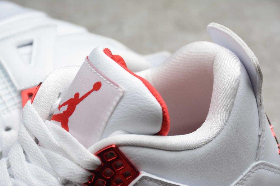 Air Jordan 4 Retro Red Metallic CT8527-112 Tongue