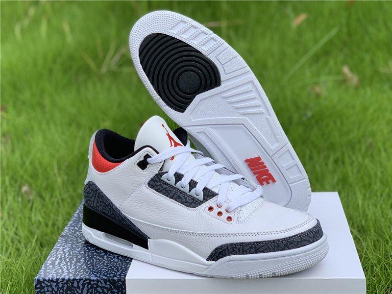 Buy Air Jordan 3 SE Denim Fire Red CZ6431-100