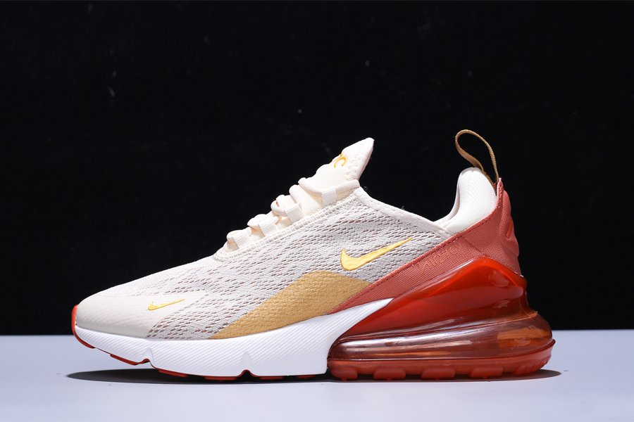 Buy Nike WMNS Air Max 270 Light Cream Metallic Gold-Terra Blush